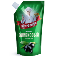 Упаковка майонеза «Оливковый»