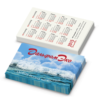Карманный календарик «Дальфом-ЭКО»— 2015