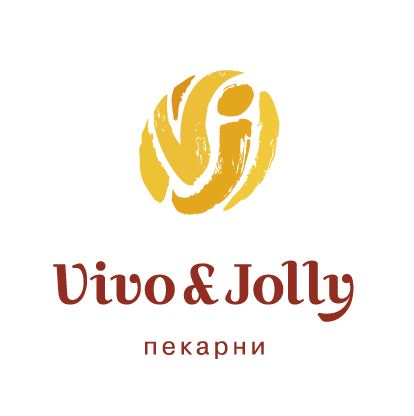 Логотип для сети пекарен Vivo & Jolly