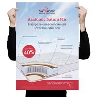 Рекламная кампания оматрасах Anatomic