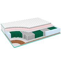3D-модели многозональных матрасов SwissHome «вразрезе»