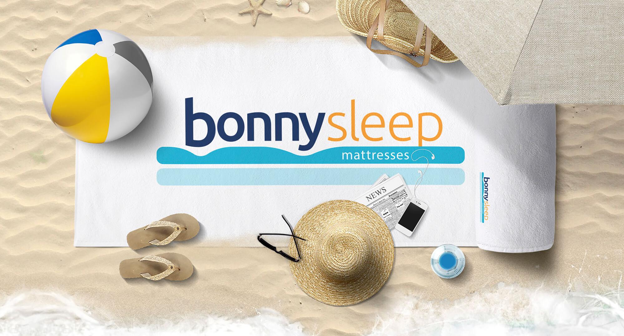 Логотип и фирменный стиль BonnySleep