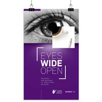 Визуальная айдентика мероприятия Eyes Wide Open