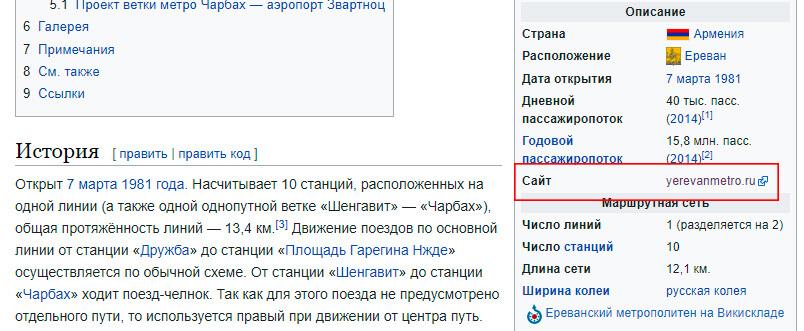 yerevanmetro.ru
