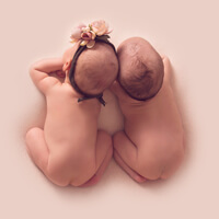 Вторая версия сайта детской фотостудии Minas