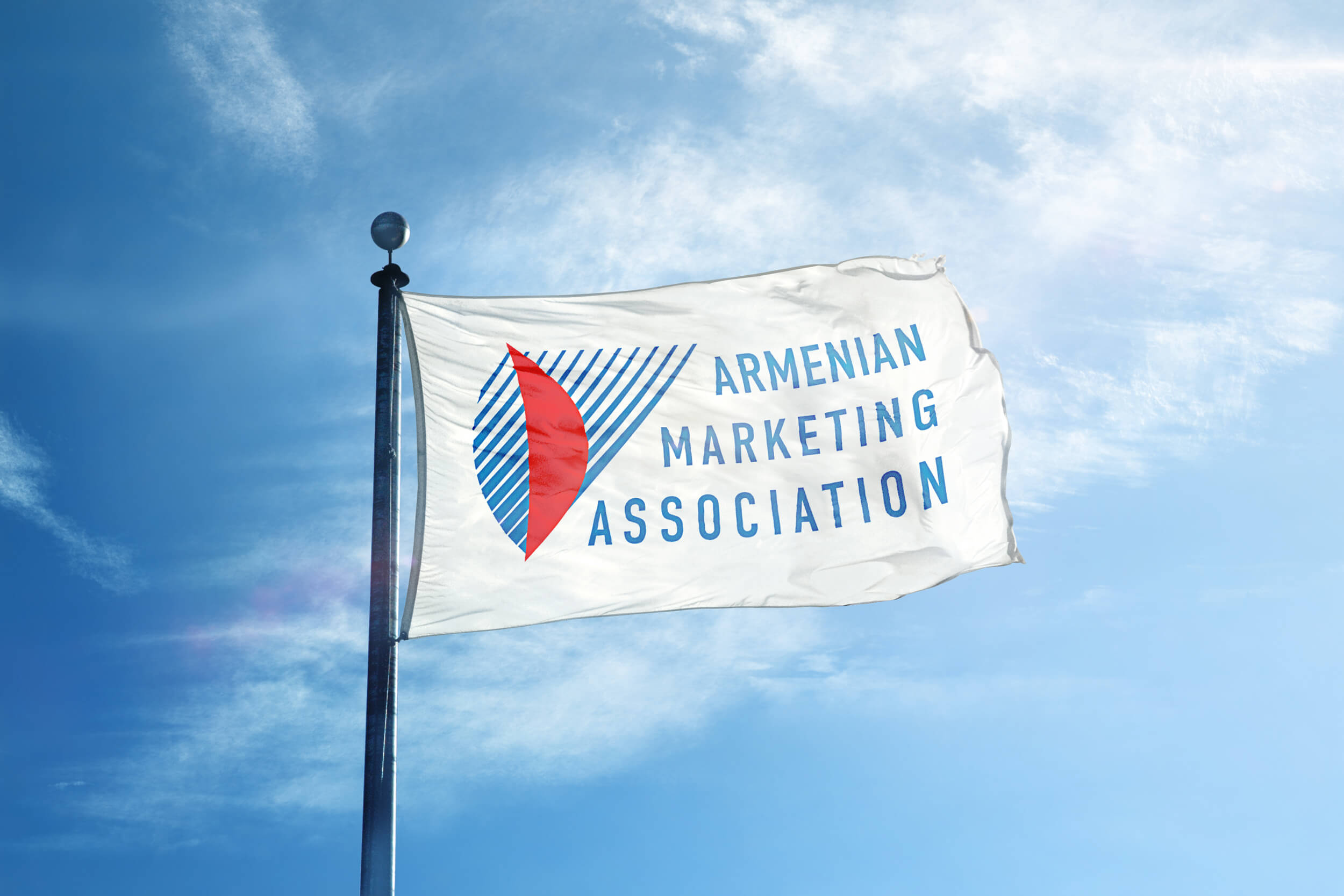 Логотип Армянской Ассоциации Маркетинга, версия 1.1
