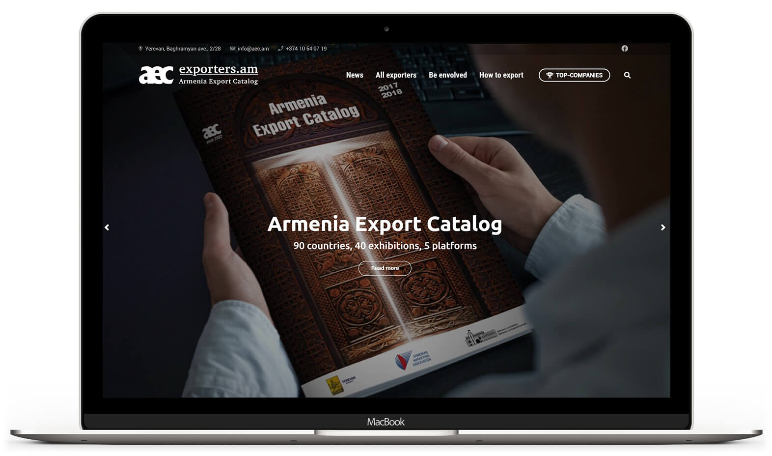 Семейство сайтов Армянской Ассоциации Маркетинга 2.0