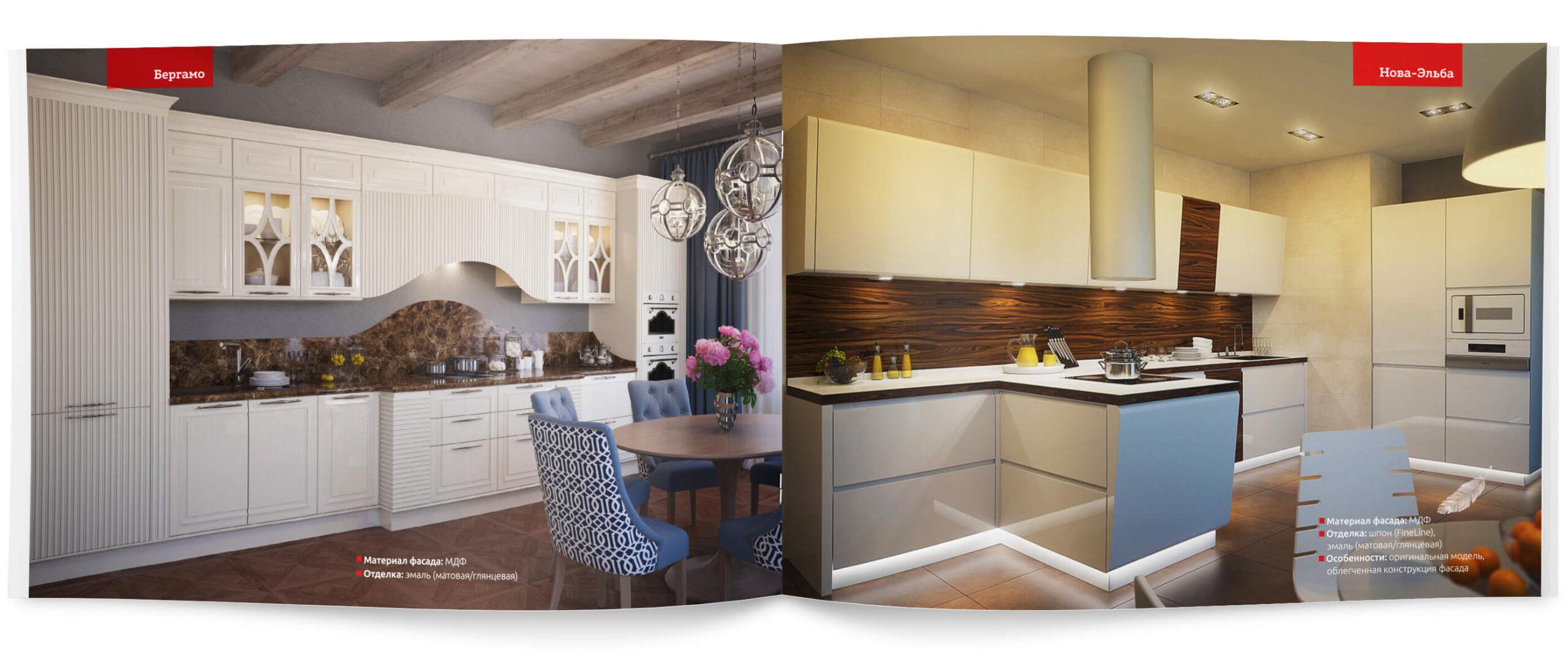 Каталог кухонных гарнитуров имебели «ADM»— 2021